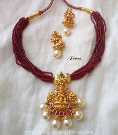 Temple+Attigai+From+Kruthika+Jewellery #GoldJewelleryLightWeight