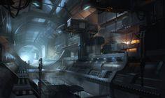 Escape, Aleksandr Nikonov on ArtStation at http://www.artstation.com/artwork/escape-bc36b4e8-3370-4bba-a92c-aea75be68908