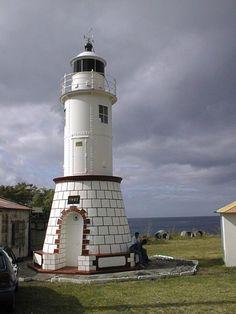 Prêcheur lighthouse [1929 - Le Prêcheur, Martinica]