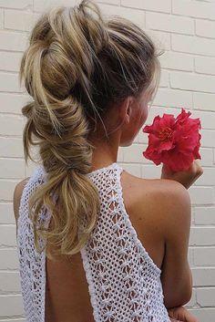 Cutest and Most Beautiful Homecoming Hairstyles ★ See more: http://glaminati.com/homecoming-hairstyles-medium-long-hair/