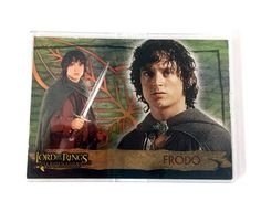 Topps Lord of the Rings Evolution Trading Card – Frodo Promo Card P1 - Collector Cards