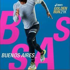 ASICS Golden Run 2017 - Buenos Aires. Evento ocorrerá dia 26/11. #asics #asicsgoldenrun #buenosaires #running #run #runner #corrida #corridaderua #corridaperfeita #21k #correr #corredoresderua #corredores #evento #bemestar