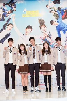 """Have you heard of upcoming drama """"Sassy Go Go"""" yet? Well, it's highly likely to be a hit with its stellar cast and heartwarming storyline. Soompi went to t High School Love, High School Drama, Korean Dramas, Korean Actors, Sassy Go Go, Age Of Youth, Ji Soo, Drama Korea, Cheer Up"""