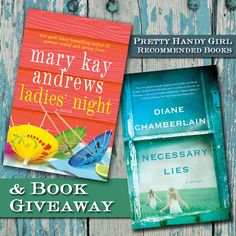 Pretty Handy Girl Book Recommendations and Giveaway @pretty things Handy Girl