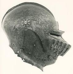 Northern Italian, Milan  Domenico dei Barini, called Negroli, active 1492-c. 1516    Close Helmet, 1510/15    Steel