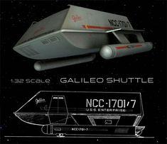 New tool Star Trek Shuttlecraft Galileo kit - Kit canceled by Polar Lights