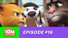 Talking Tom and Friends ep.16 - Hank the Director xo, Talking Angela #TalkingAngela #TalkingTom #MyTalkingAngela #LittleKitties #TalkingFriends #TalkingBen #TalkingHank #TalkingGinger #director