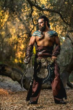 Khal Drogo Game of Thrones #cosplay