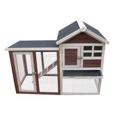 Advantek Stilt House Rabbit Hutch - Rabbit Cages & Hutches at Hayneedle