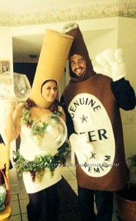 Funny SNL (Lady Gaga) Liquorville Wine Costume - 5