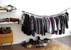 No closet on pinterest clothing storage no closet and - Clothes storage no closet ...