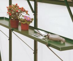Greenhouse shelving - Ράφια θερμοκηπίου