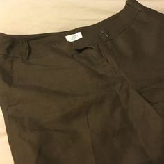 Dress shorts Brown dress shirts. With lining. Lightly worn. Ann Taylor Shorts