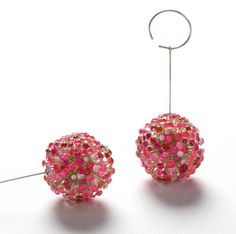 "Josephine Winther ""Rubyfruits"" earrings"