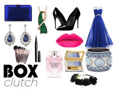 """Box Clutch Contest Piece"" by infinity-love98 on Polyvore featuring Charlotte Olympia, Dolce&Gabbana, LE VIAN, Chico's, Marc Jacobs, Victoria's Secret, Estée Lauder and Charlotte Tilbury"