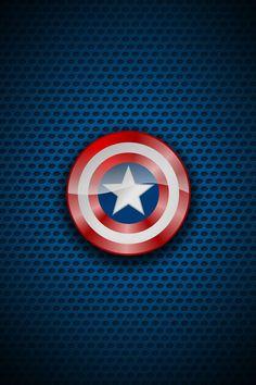 Captain America Shield IPhone Wallpaper