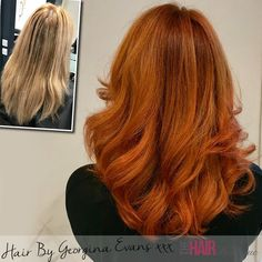 Fabulous Copper colour melt by Georgina Evans :) Would you like to change your style? Visit our website for a FREE £10 voucher :)