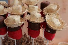 Cowboy marshmallows #cowboy #birthday #dessert