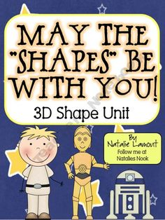 """May The Shapes Be With You!"" ~ A 3D Shape Unit"