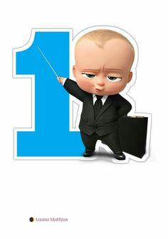 01 ano do Ben Baby Birthday Decorations, Baby Boy 1st Birthday Party, Boss Birthday, Party Favors For Kids Birthday, Baby Motiv, Boss Baby, 1st Birthdays, Stickers, Bernardo