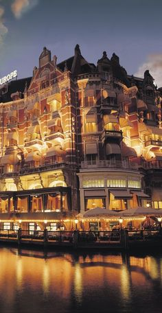 ♔ Hotel de l'Europe Amsterdam