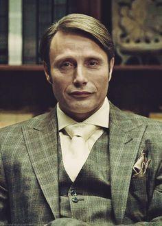Mads Mikkelsen on Hannibal Hannibal Lecter, Hannibal Suit, Hannibal Funny, Nbc Hannibal, Anthony Kiedis, Lauryn Hill, Carl Jung, Freddie Mercury, Best Television Series