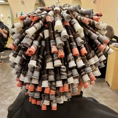 Not all perms are for old ladies, spiral perms actually look natural! Getting A Perm, Perm Rods, Permed Hairstyles, Hair Photo, Curlers, Old Women, Curly Hair Styles, Hair Makeup, Take That