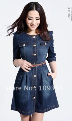 Denim dress <3