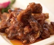 Senator Dan Inouye's Sweet Sour Spare Ribs – This recipe was given to him by former state Senator John Ushijima in 1950 when they were both in Law school at George Washington University in Washington, D. Read Recipe by cookinghawaiian Ono Kine Recipes, Pork Recipes, Asian Recipes, Cooking Recipes, Ethnic Recipes, Asian Foods, Sweet And Sour Spareribs, Hawaiian Dishes, Hawaiian Recipes