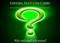 Eiweiß, Fett, Kohlenhydrate – wieviel darf ich essen?