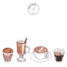 Good objects - Thinking about starting the week like... ☕️ #goodobjects #illustration