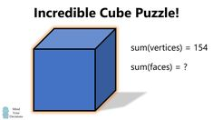 Incredible Cube Puzzle Mental Math Tricks, Unbox Therapy, Tim Peake, Maths Puzzles, Cube Puzzle, Game Theory, 14 Year Old, Made Video, Science And Technology