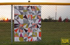 Halloween Quilt by r0ssie, via Flickr