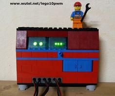 """LEGO Solar PV charger DIY by CRELAB  http://www.wutel.net/crelab   Regolatore di carica fotovoltaico realizzato """"fai-da-te"""" dal laboratorio artistico creativo """"CRELAB"""""""