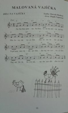 Piano Sheet Music, Easter Party, Preschool, Songs, Kid Garden, Nursery Rhymes, Song Books, Kindergarten, Day Care