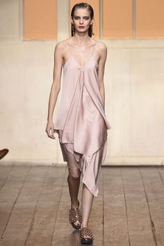 Cedric Charlier RTW Spring 2015 [Photo by Giovanni Giannoni]