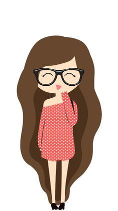 Slegs twee dinge kan 'n vrou se bui verander. Tumblr Hipster, Png Tumblr, Tumblr Girls, Kawaii Drawings, Cute Drawings, Oblyvian Girls, Tumblr Girl Drawing, Girly M, Printable Stickers