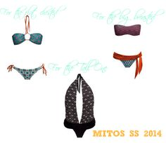 Which Mitos Swimwear was made for you?- Whether you are tall or petite, pear or apple shaped, big breasted or athletic, we know which MITOS Swimwear you will fall in love with this summer. Our Love, Falling In Love, Moroccan, Pear, Mosaic, Bikini, Athletic, Shapes, Apple