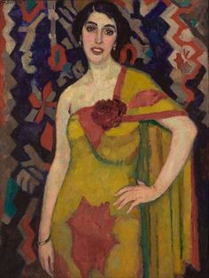 Portrait of a Dancer (1916) by Jan Sluijters (1881-1957), Dutch…