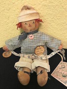 13-Primitive-Raggedy-Ann-amp-Andy-dolls-by-Tattered-Rabbit-Farm