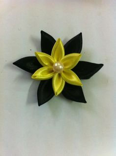 DIY Ribbon Crafts : DIY Flower Clips