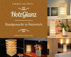 Zirbenlampen von HolzGlanz - perfekt als Wohnraumbeleuchtung oder auch als Geschnenk für Familie und Freunde Residential Lighting, Floor Lamp Base, Sparkle, Friends