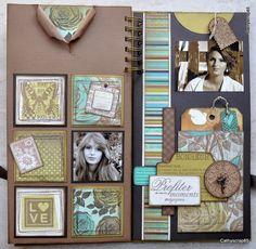 """Mon album """" les images du bonheur """" - куча деталей"""