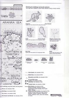Gallery.ru / Фото #5 - Map of Australia - natalytretyak