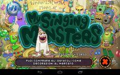 My singing monster