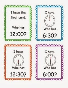 Teaching Little Miracles: Telling Time Blues and Cures!!