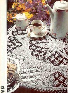 "Álbum «"" crochet decorativo ""№2.» / Servilletas, manteles /. Discusión sobre LiveInternet - Servicio de Rusia Diarios Online"