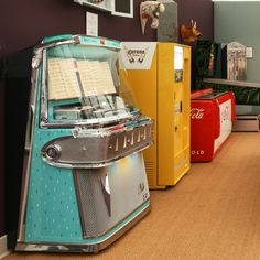 1958 AMI I 200 Vinyl Jukebox with spearmint trim from The Games Room Company | 1…