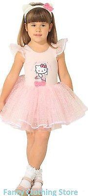 #Hello #kitty #pretty pink ballerina tutu dress fancy dress costume play headband,  View more on the LINK: http://www.zeppy.io/product/gb/2/171986604434/