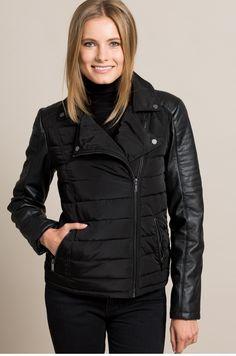 0848292f540 Куртка Rebel черный -60-KUD001. Зимние КурткиКожаная Куртка. Куртки